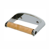 Chrome Anti Vandal Lockable Toilet Roll Holder - 01095999